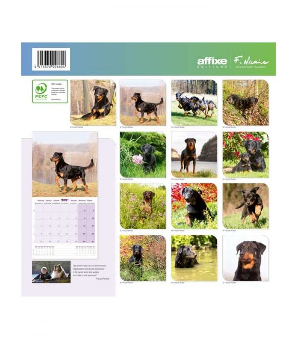 Calendrier Beauceron 2021 1