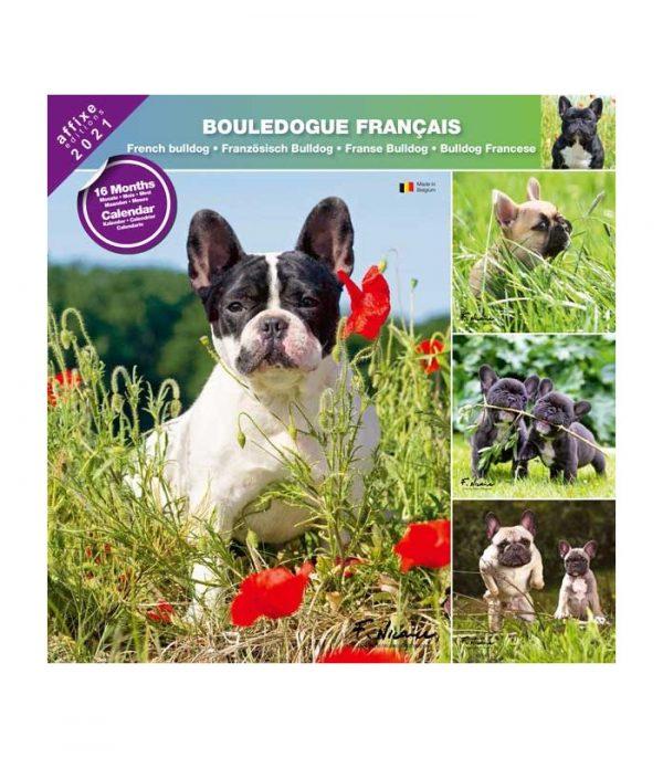 Calendrier Bouledogue Francais 2021