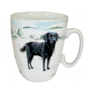 Mug Labrador Noir Debout
