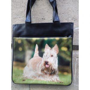 Sac a main decore dune photo de Scottish Terrier