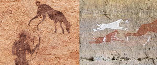 chien archéologie